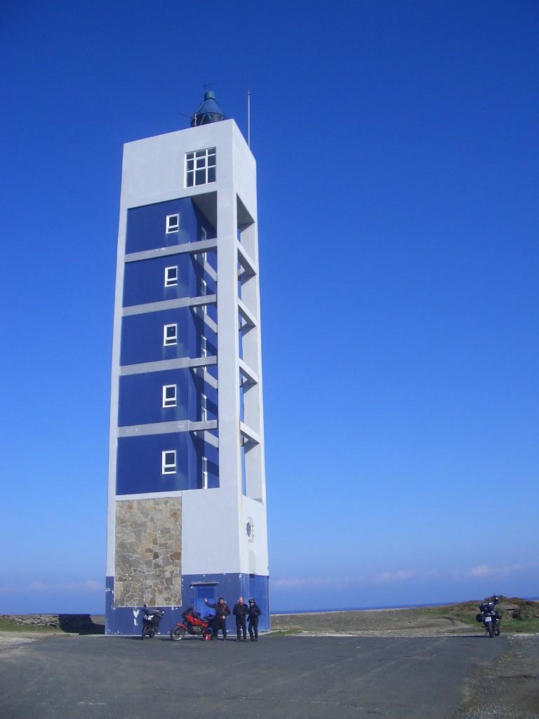 Primer Faro. El Faro de Punta Frouxeira